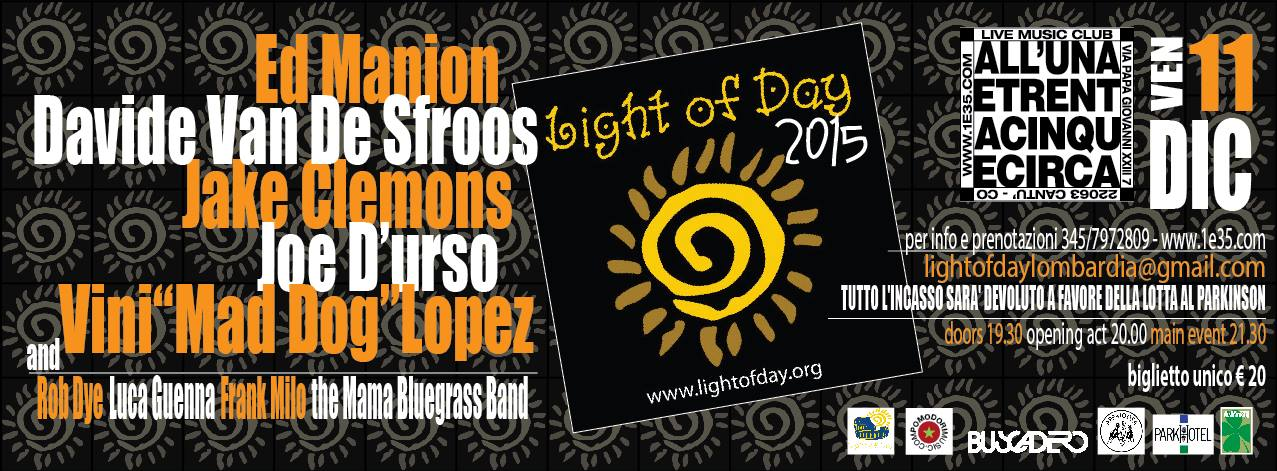 Light of Day 2015 a Cantù