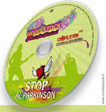 "Il CD ""WOODinSTOCK - STOP al Parkinson - Compilation 2012"""