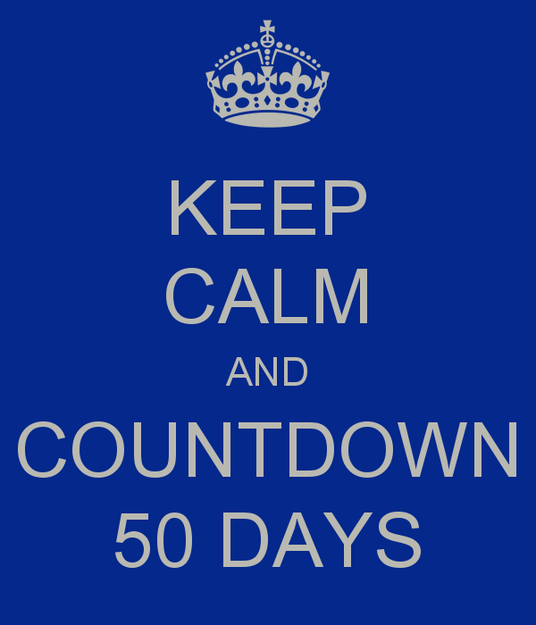 50 days to WOODinSTOCK